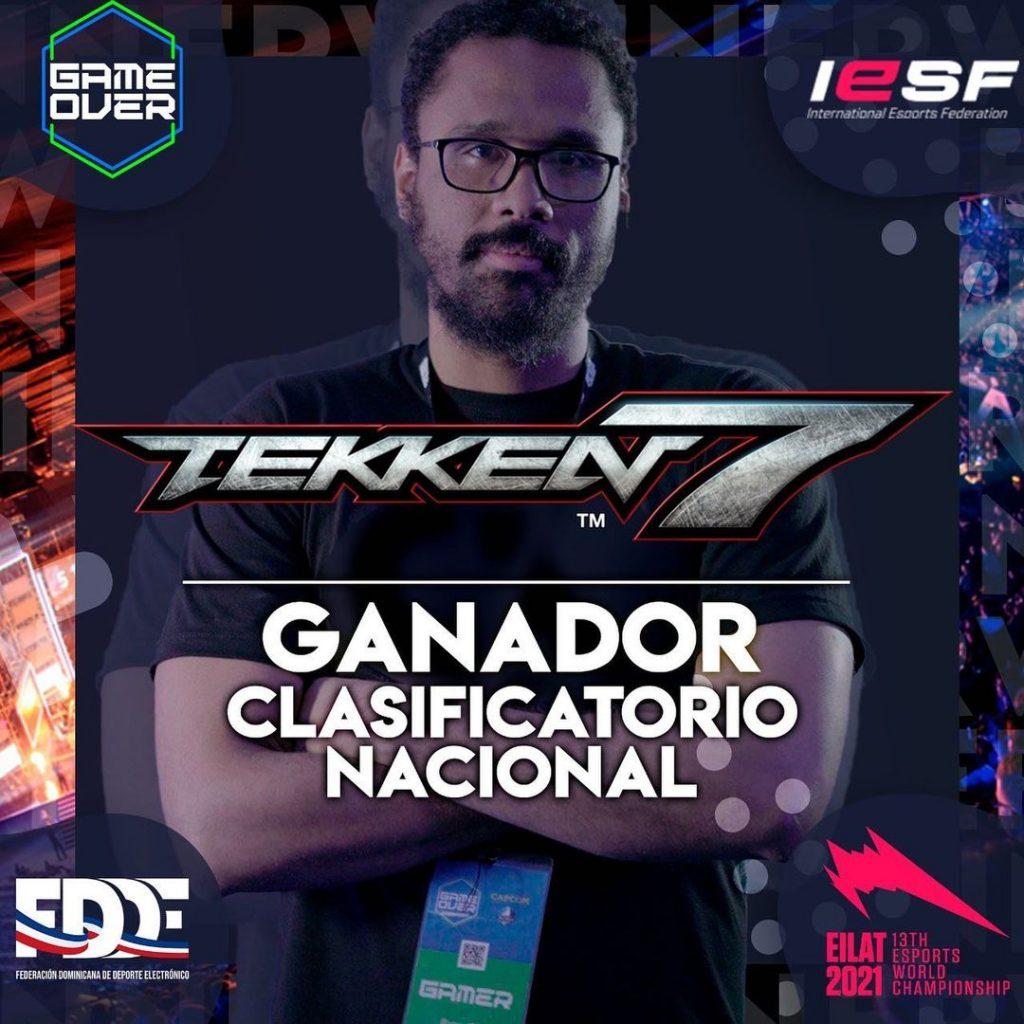 Jorge Andrews aka Energie_Marduk por segundo año consecutivo gana el torneo nacional clasificatorio Tekken7 para representar al país en las regionales del IESF WC2021